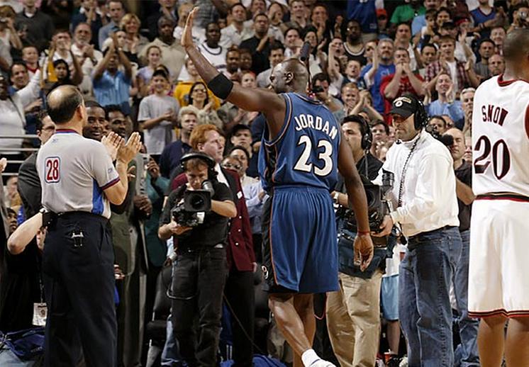 El último juego de Michael Jordan