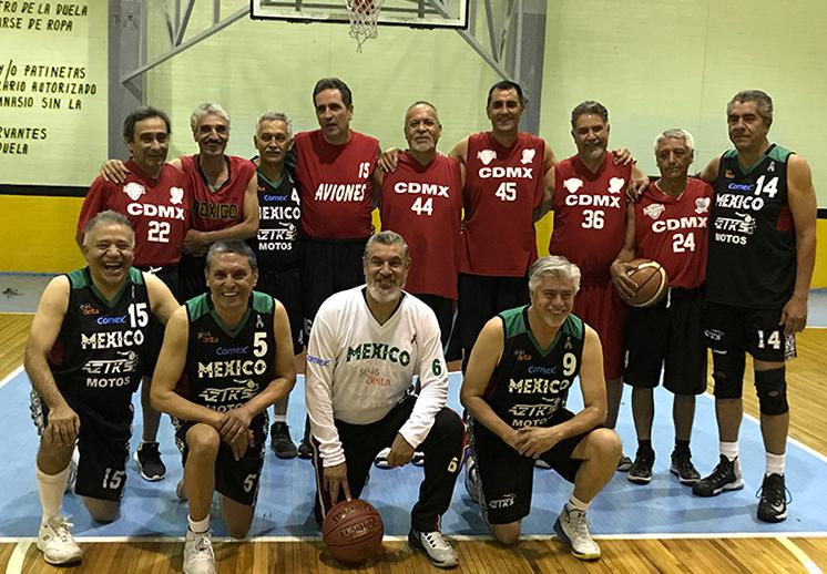 México presente en el Mundial de Maxibasquet