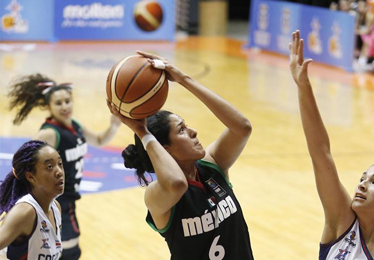 Las jóvenes mexicanas con paso perfecto en el Centrobasket U17