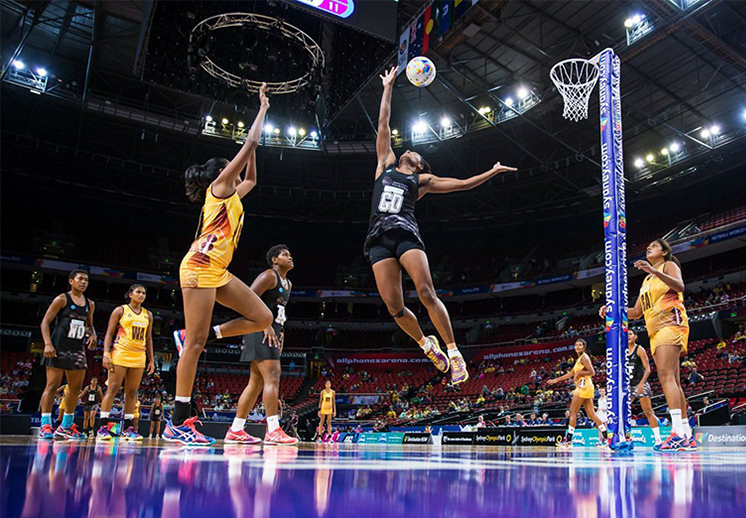 Deportes parecidos al basquetbol: Netball