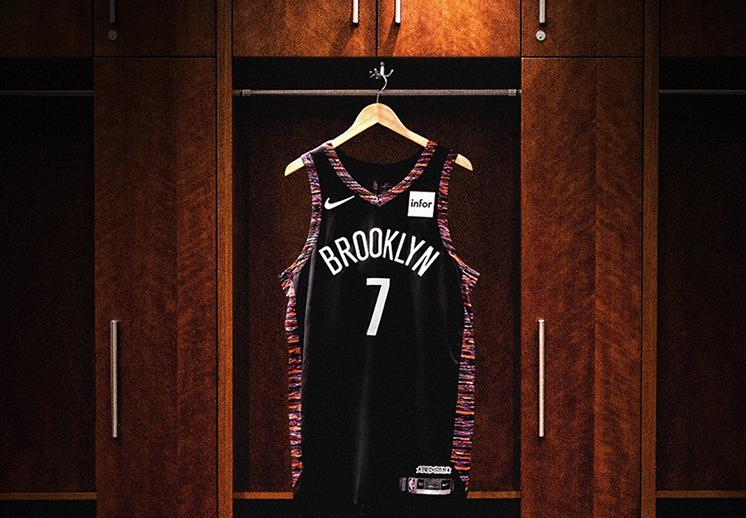 Cambios en las camisetas de las estrellas de la NBA