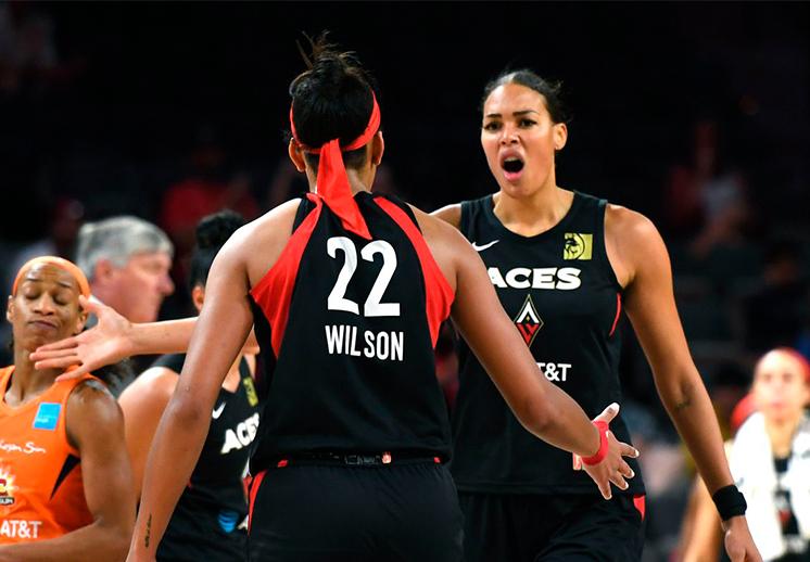Las Vegas Aces marcan la pauta en la WNBA