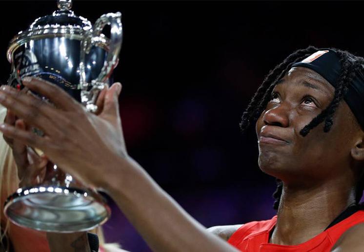 El emotivo discurso de Erica Wheeler, la MVP del All Star de la WNBA