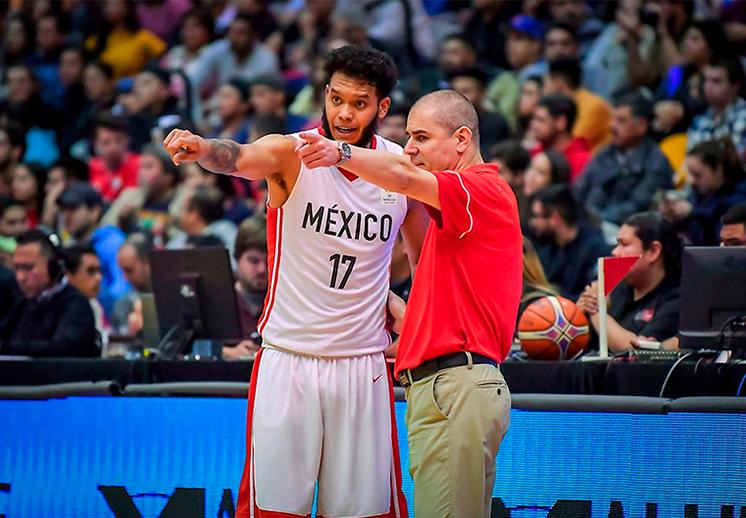 Listo el calendario de México para el clasificatorio al FIBA Americas