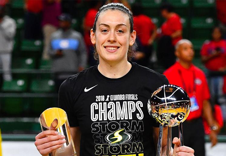 La importancia de Breanna Stewart en el basquet femenil