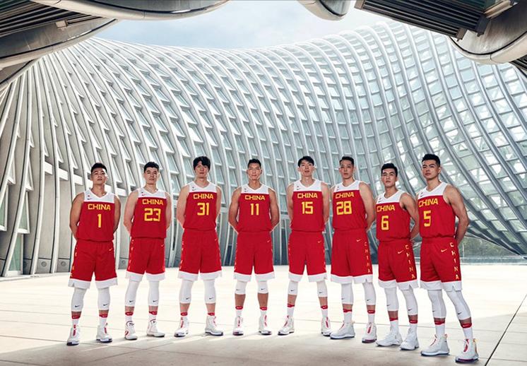 Así lucen algunos de los uniformes para el mundial de China
