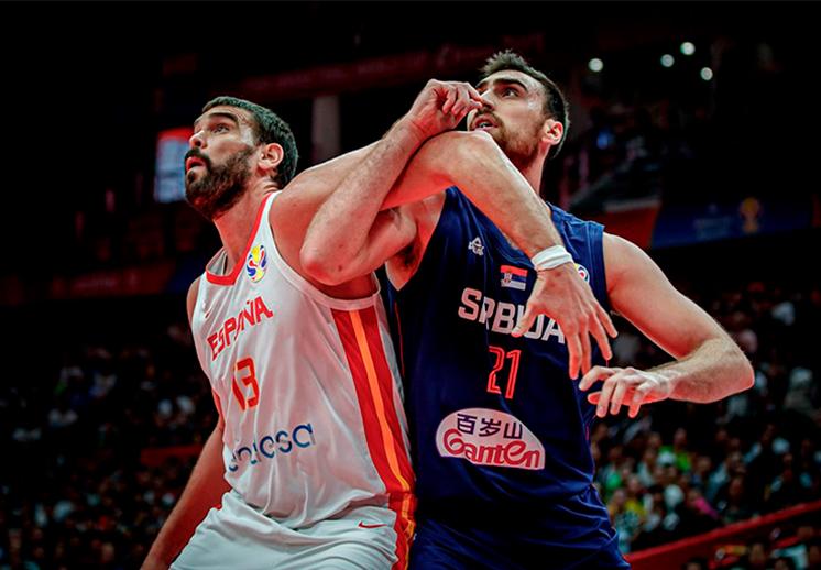 España y Serbia ponen el show en la Copa del Mundo