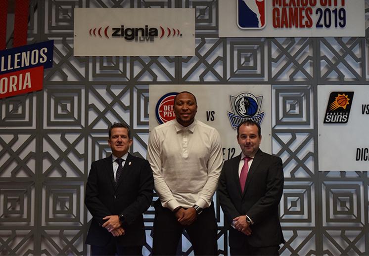 Presentan los NBA México City Games 2019