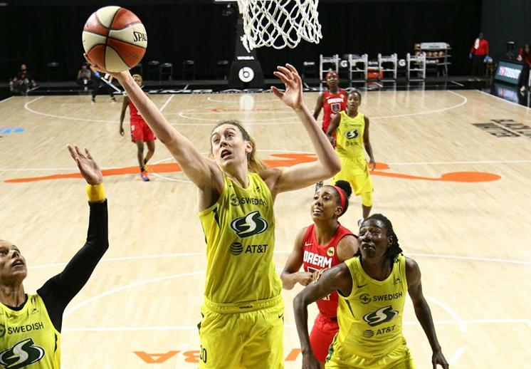 La burbuja de la WNBA marcha sin contagios