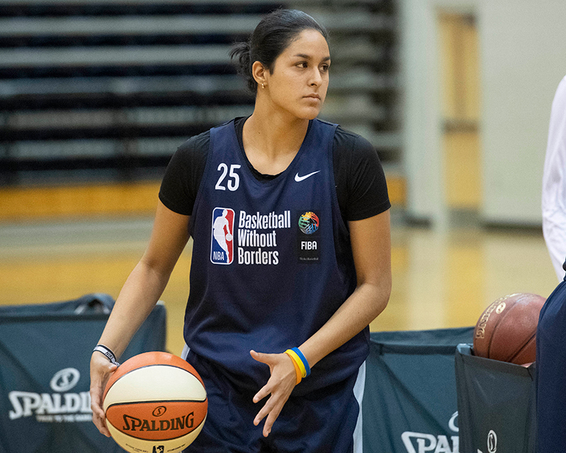 Mariana Valenzuela, orgullo de NBA Academy Women's Program 2