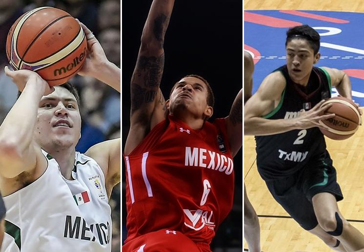 La lista de convocados por México para las ventanas FIBA