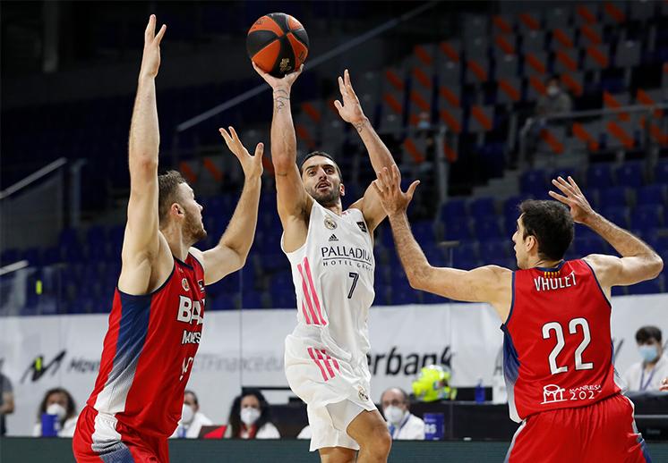 Facundo Campazzo se despidió en grande del Real Madrid antes de viajar a la NBA