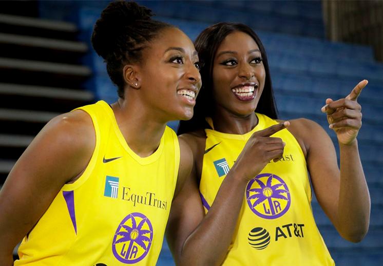 Las hermanas Ogwumike, históricas de la WNBA