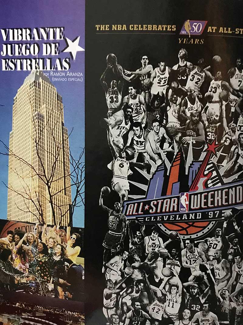 Ahí Estuvimos: El NBA All-Star Game 1997 en Cleveland 2