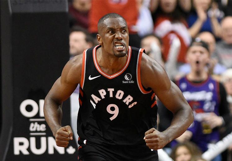 Serge Ibaka se une a los Clippers de Los Angeles