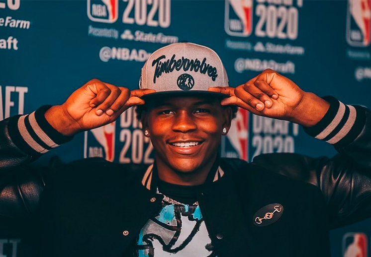 Anthony Edwards el elegido por los Timberwolves en el NBA Draft 2020