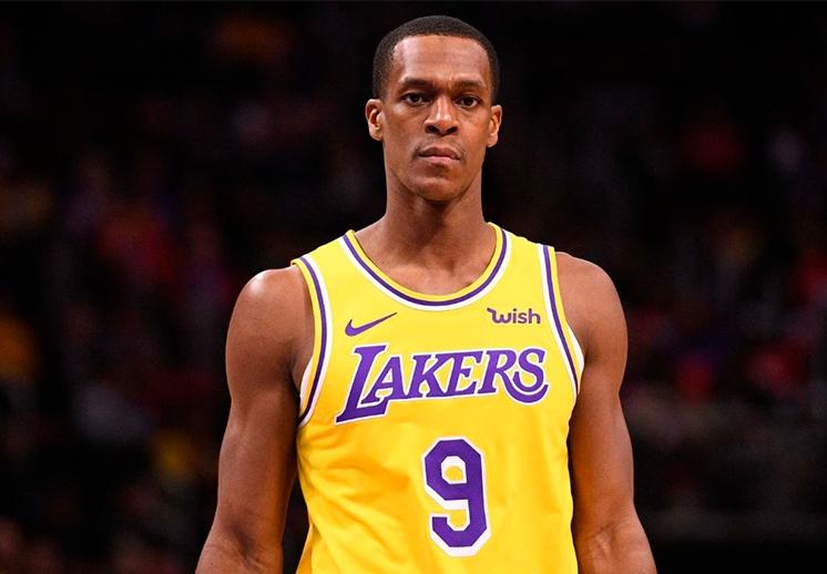 Rajon Rondo se despidió de los Lakers