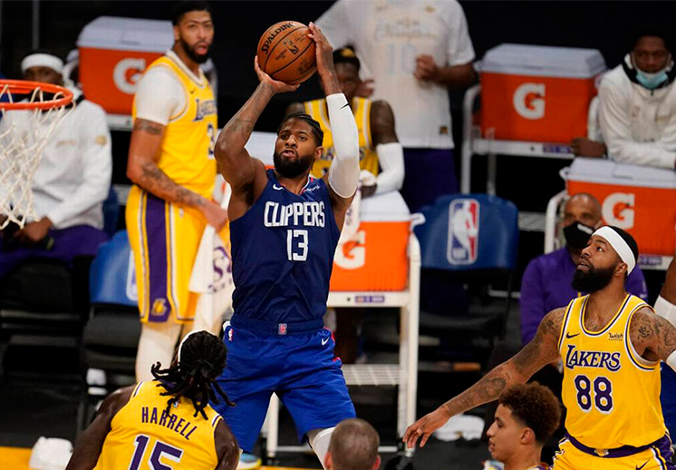 Los Clippers le abollaron la corona a los Lakers