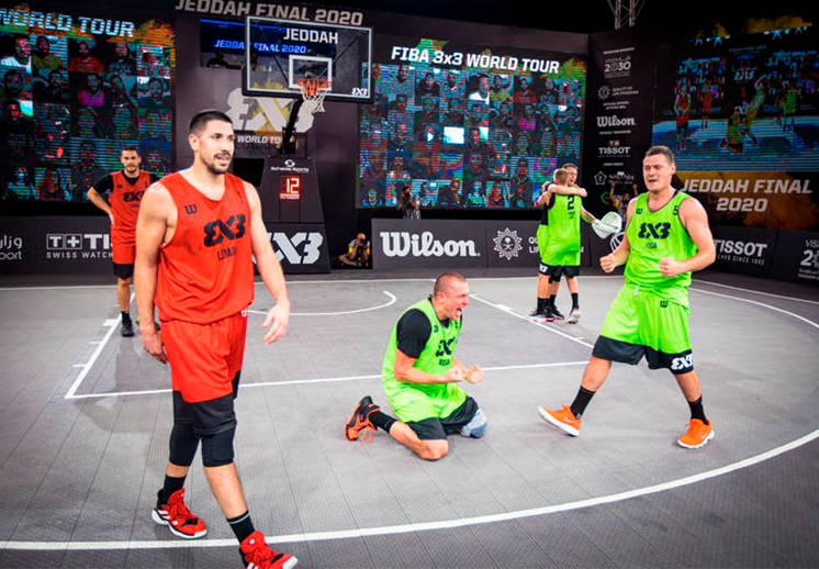 Cierre espectacular del FIBA 3X3 World Tour 2020