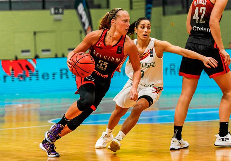 El ranking más reciente en el basquetbol femenil de FIBA