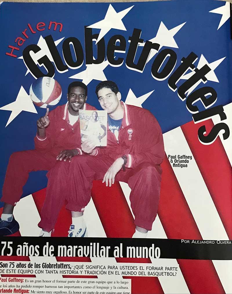 Ahí Estuvimos: Los Globetrotters en México 3