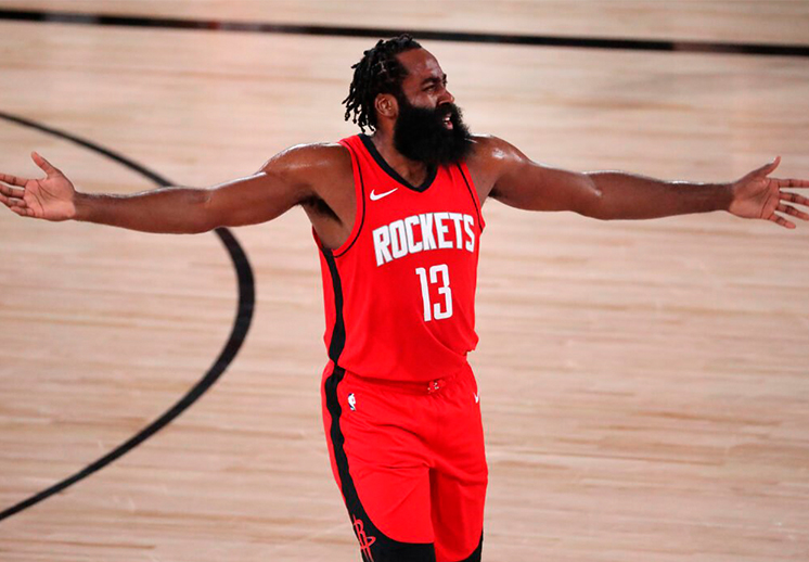 James Harden suspendido por la NBA