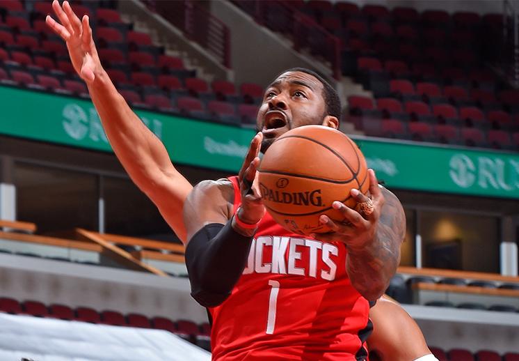 John Wall y DeMarcus Cousins debutaron con los Rockets de Houston