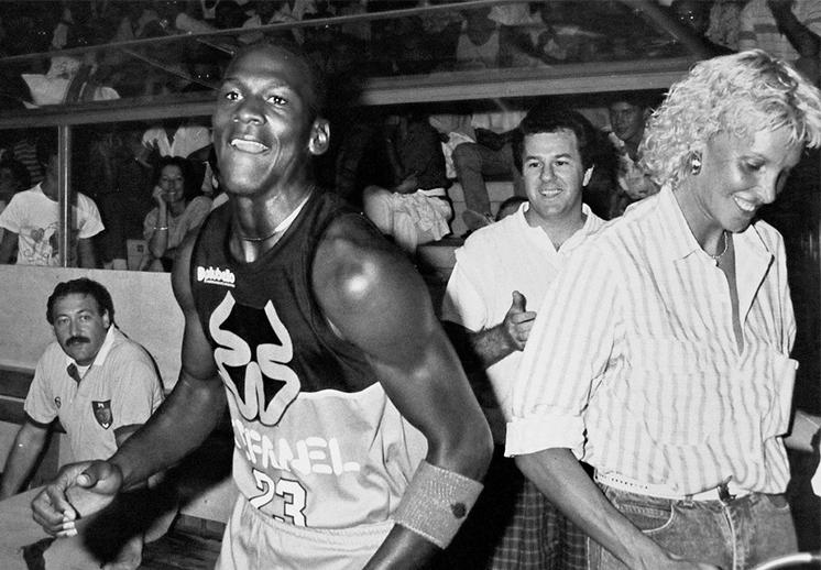 La historia del tablero destrozado por Michael Jordan