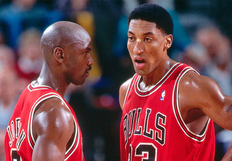 Scottie Pippen enojado con Michael Jordan por The Last Dance