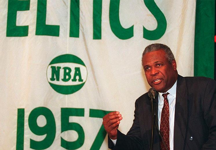 Murió K.C. Jones, leyenda de Celtics y la NBA