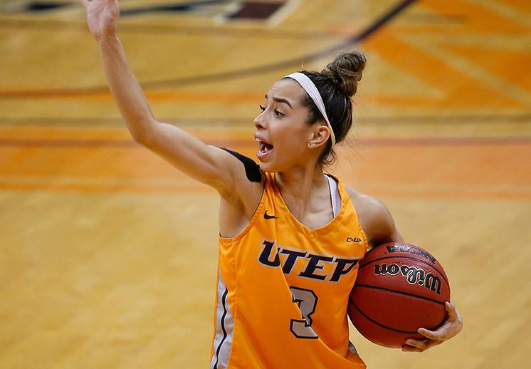 Katia Gallegos con otra gran actuación en la NCAA