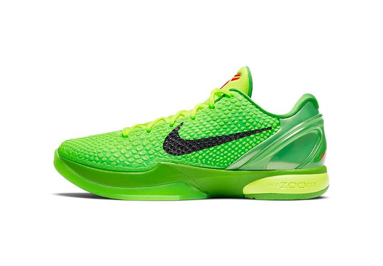 """Regresan los Nike Kobe 6 """"Grinch"""" para Navidad DEST"""