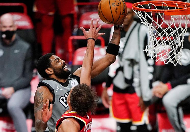 Los Nets de Kyrie y KD le quitaron el invicto a los Hawks de Atlanta