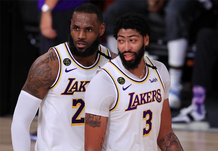 Los Lakers sueltan millones de dólares por LeBron James y Anthony Davis