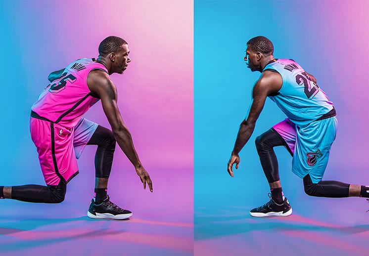 El Miami Heat nos presenta su uniforme que fusiona lo mejor de Miami Vice