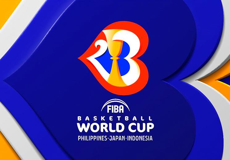 FIBA presenta el logo del Mundial de Basketball 2023