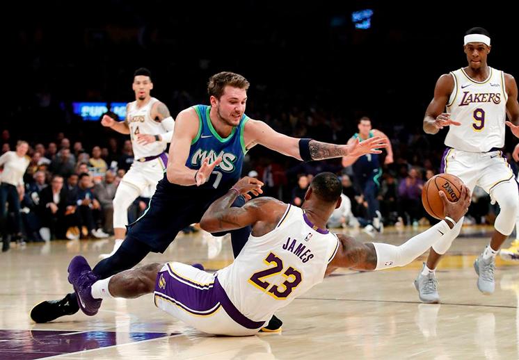 Los juegos de la NBA para el día Navidad