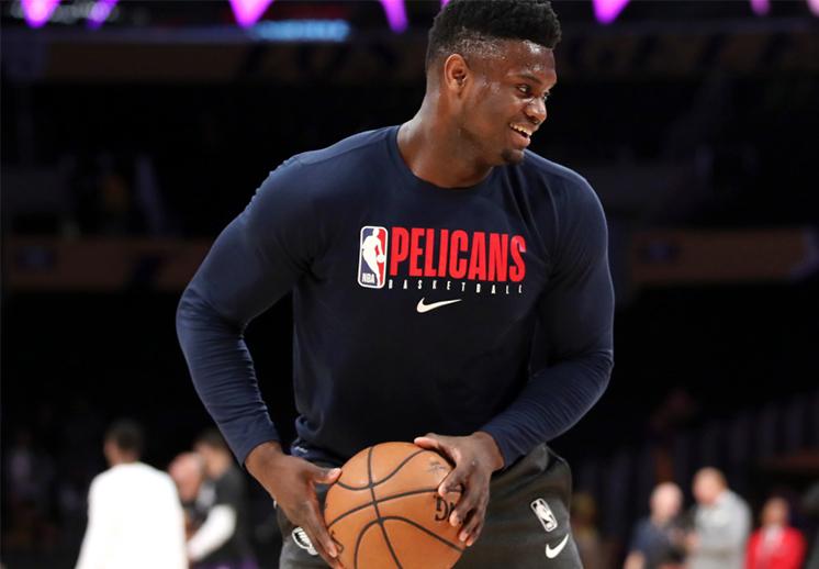 Zion Williamson se lució en su primer partido de pretemporada con Pelicans