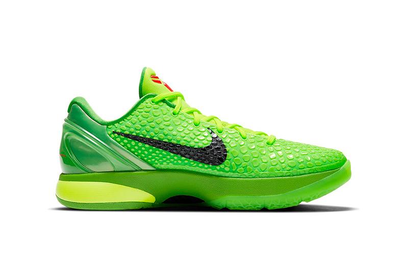 """Regresan los Nike Kobe 6 """"Grinch"""" para Navidad 1"""