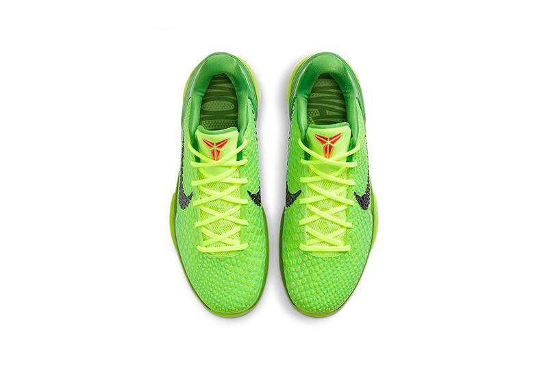 """Regresan los Nike Kobe 6 """"Grinch"""" para Navidad 3"""