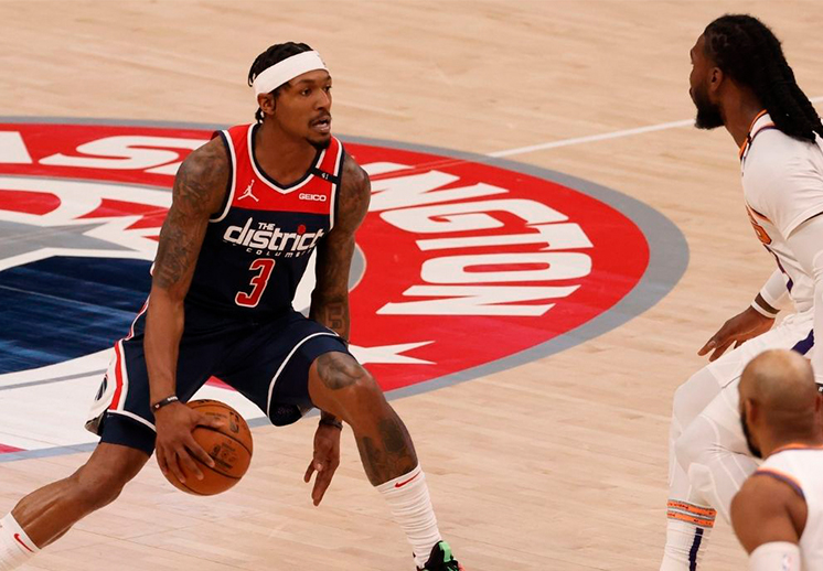 Bradley Beal sigue en plan superestrella con los Wizards