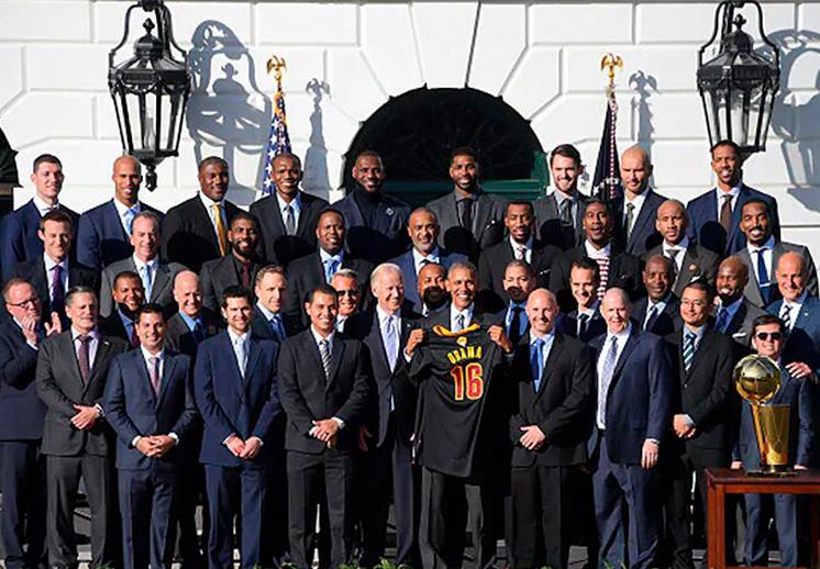 Los Lakers podrían visitar la Casa Blanca