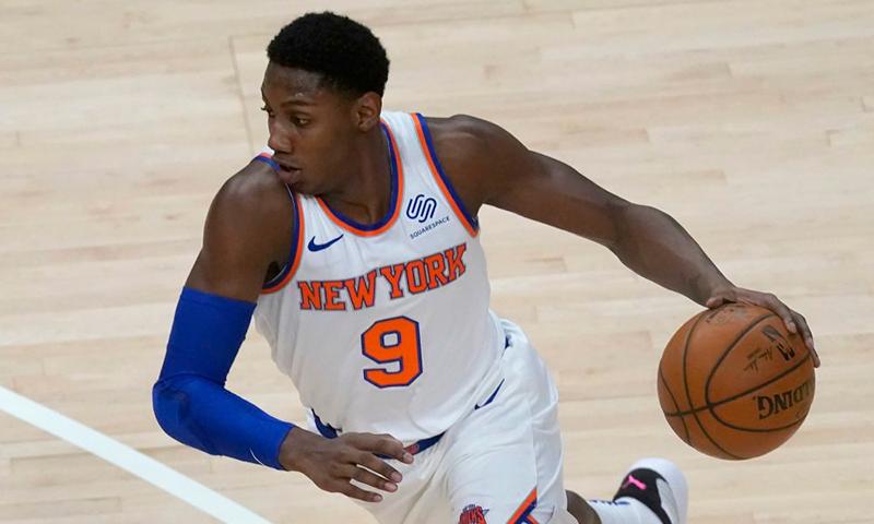 La dupla que ilusiona a los New York Knicks Barrett