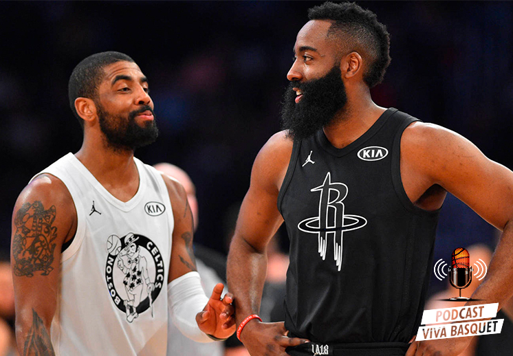 Podcast Viva Basquet: COVID en la NBA, James Harden, Kyrie Irving y los Nets