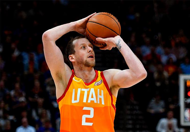 Terminó la histórica racha de Joe Ingles con el Utah Jazz