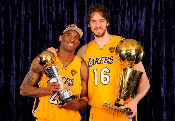 Kobe: el bicampeonato con Pau Gasol