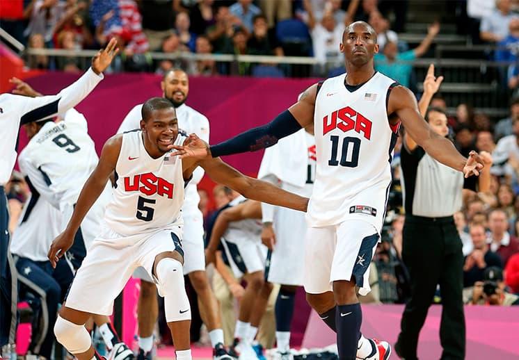 Kobe: segundo Oro Olímpico en Londres 2012