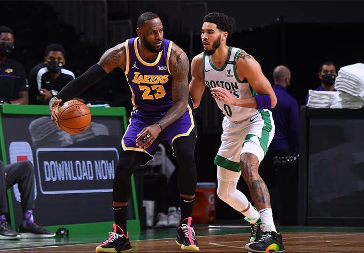 Los Lakers sacaron un triunfo agónico frente a los Celtics