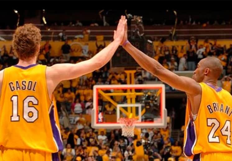El tributo de Pau Gasol a su hermano Kobe Bryant