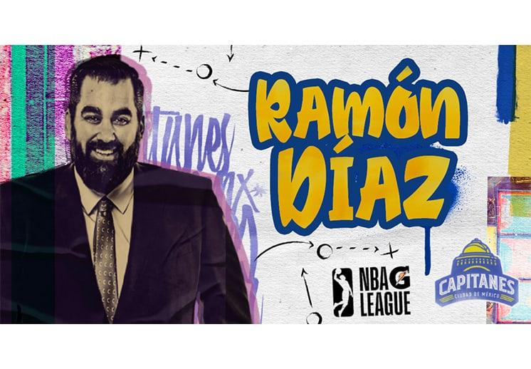 Ramón Diaz seguirá como coach de Capitanes en la NBA G-League